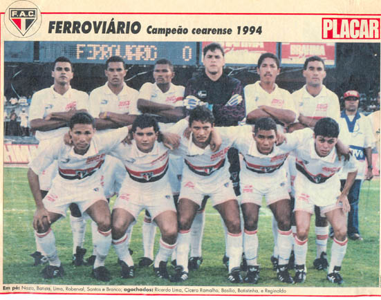 ferroviário 1994 ceará